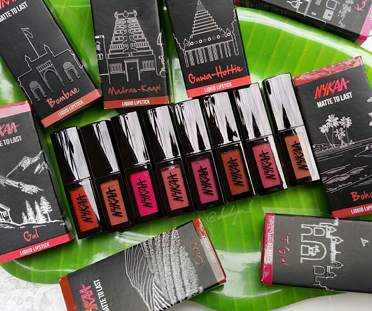 Nykaa Matte to Last Liquid Lipsticks 2