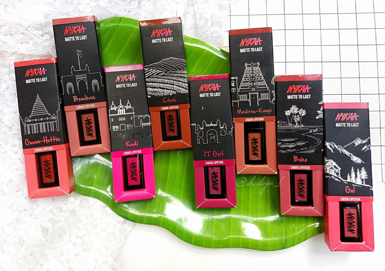 Nykaa Matte to Last Liquid Lipsticks 3