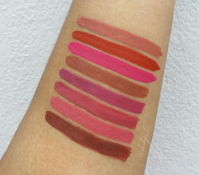 Nykaa Matte to Last Liquid Lipsticks 6