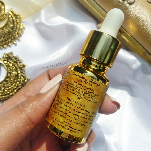 LUXURIOUS_ADORE AURUM 24K GOLD SERUM 2