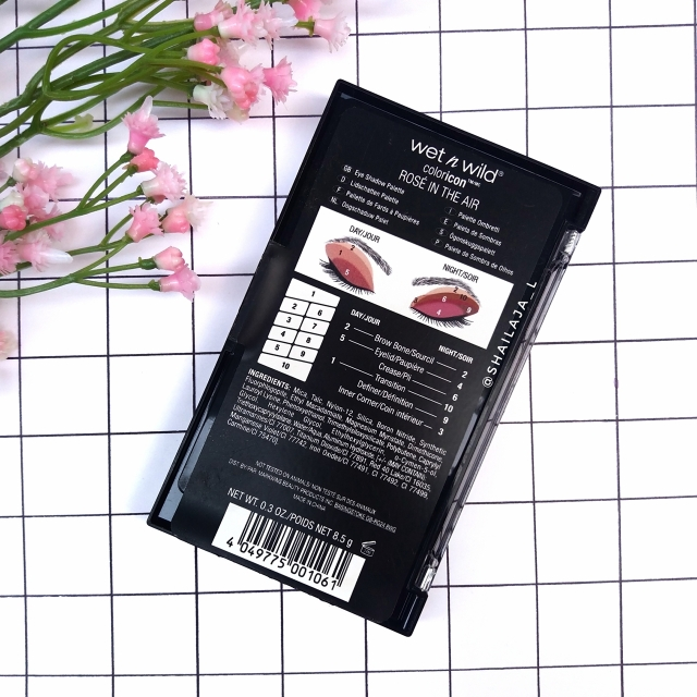 Wet n Wild Rose In The Air palette 1