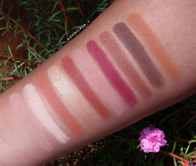 Wet n Wild Rose In The Air palette 8